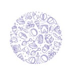 doodle-baby-toys-icons-in-circle-design-vector-13634474
